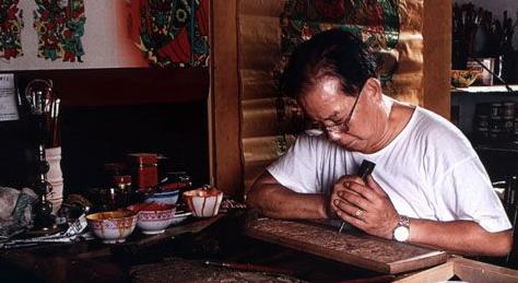 杨柳青年画的套印方法