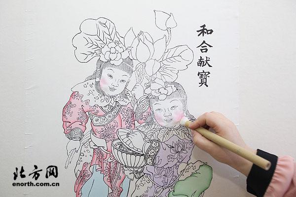 杨柳青年画班半年报