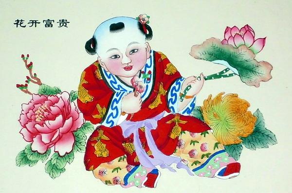 杨柳青年画-@柳青的年画网里有什么