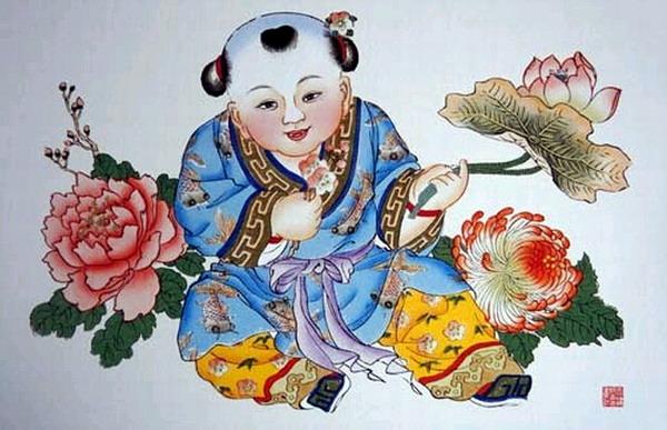 浅谈杨柳青木版年画的色彩1