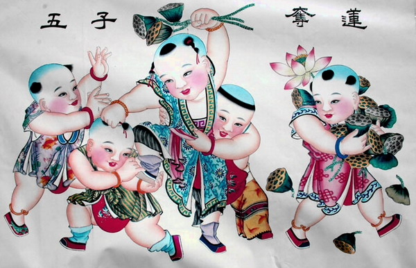 杨柳青年画代表作有哪些