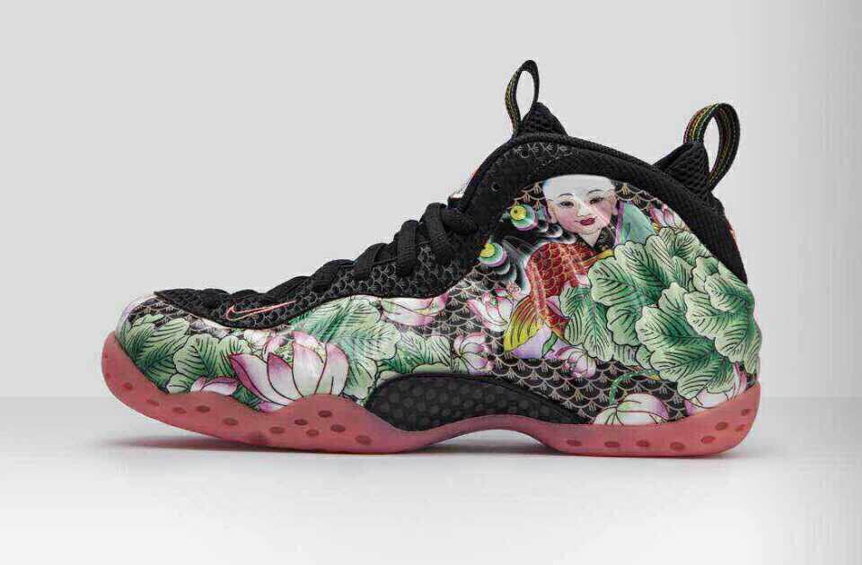 杨柳青年画衍生品-Nike Air Foamposite One
