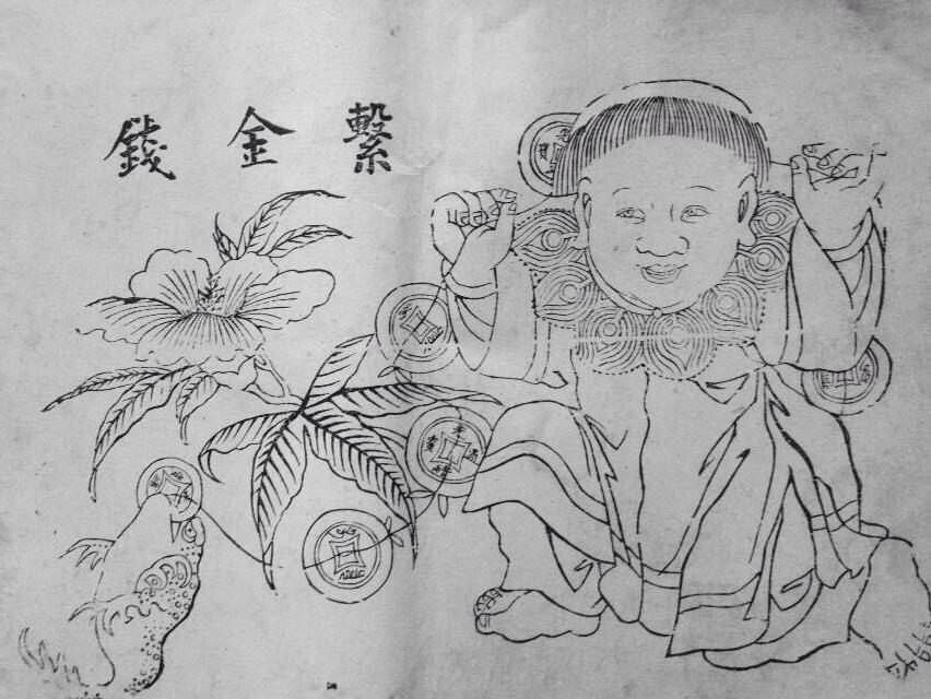 戴廉增敬记画店杨柳青年画欣赏(上)
