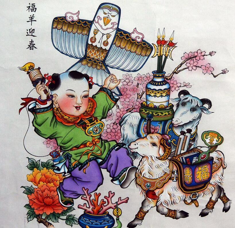 """再谈杨柳青年画是怎么""""鼓""""起来的?"""