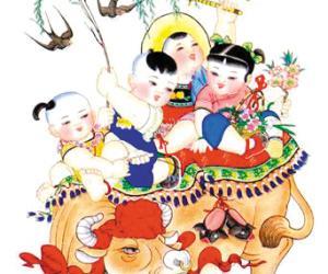 杨柳青年画-年画代表中的北柳