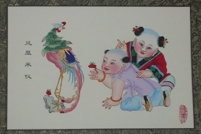 圣诞节前的杨柳青年画故事