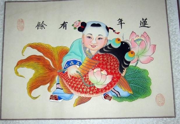 民间传说—杨柳青年画娃娃的灵性