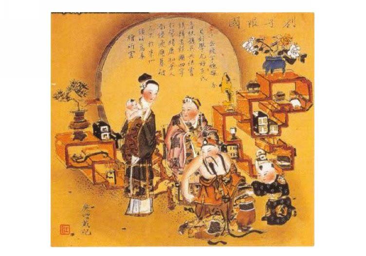 杨柳青年画欣赏之文物篇
