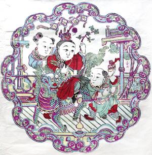 义成永年画 走过百年兴衰(评)