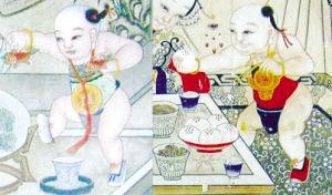 杨柳青年画中的孪生兄弟(组图)(转)